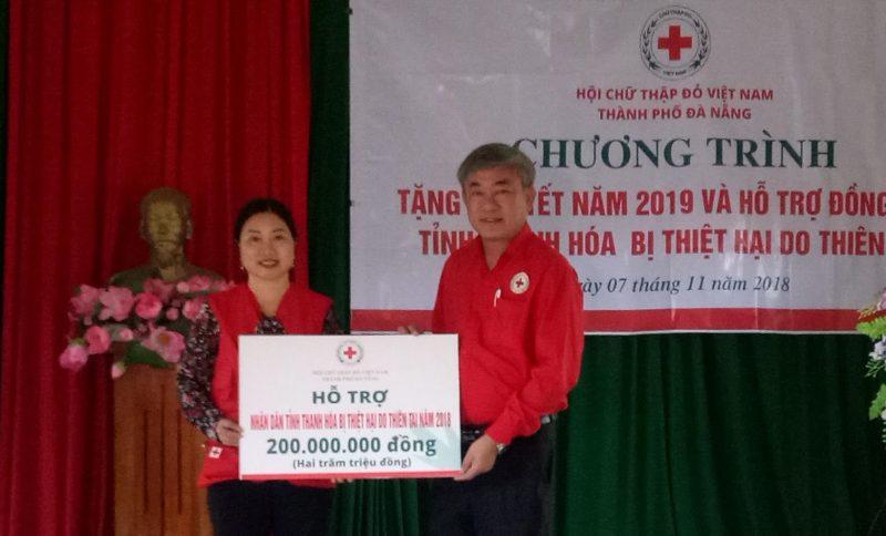 Đà Nẵng: Ủng hộ 1,2 tỷ đồng cho đồng bào vùng lũ Thanh Hóa