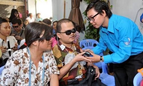 Dự án Khát vọng sáng hỗ trợ người khiếm thị, mù lòa
