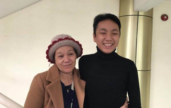 Thiếu niên 15 tuổi mong gặp ân nhân đã tặng mình trái tim