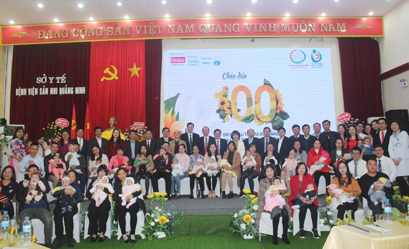 Quảng Ninh: Chào đón em bé thứ 100 ra đời bằng thụ tinh ống nghiệm