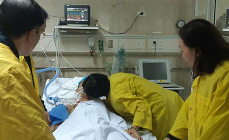 Người đàn ông 43 tuổi hiến tim, phổi, gan, thận cứu 5 người