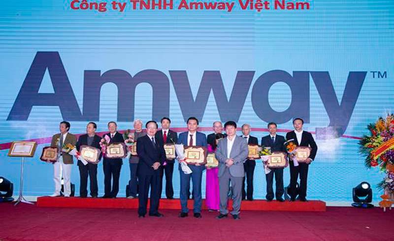 Amway Việt Nam được Bộ Y tế cấp bằng khen