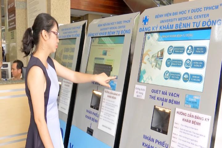 Ứng dụng đăng ký khám bệnh online tại Bệnh viện Đại học Y Dược