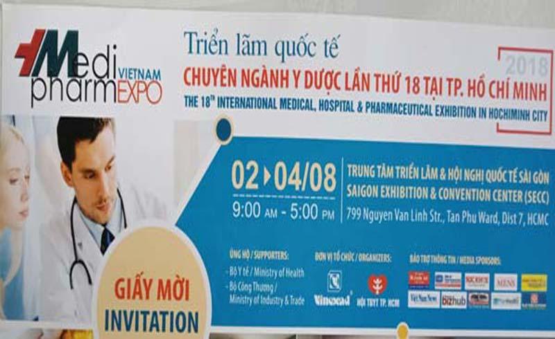 VIETNAM MEDI PHARM EXPO: Cơ hội lớn cho các doanh nghiệp