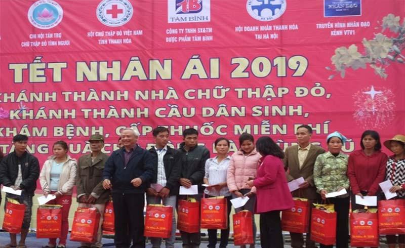 PCT Quốc hội Uông Chu Lưu cùng bà con vùng lũ Thanh Hóa đón Tết sớm