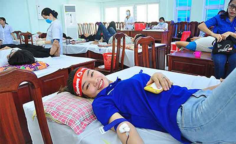 Tham gia hiến máu là niềm tự hào