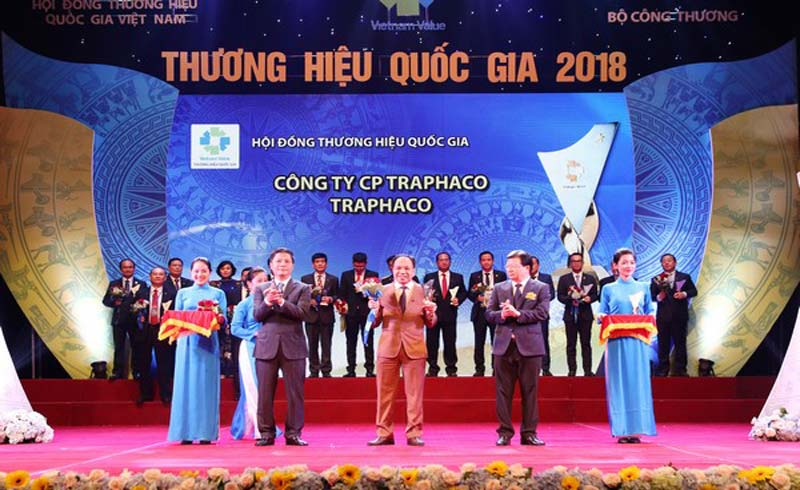 Traphaco lần thứ 4 liên tiếp đạt Thương hiệu Quốc gia – Vietnam Value