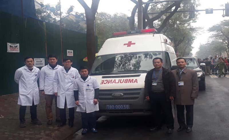 500 nhân viên y tế trực cấp cứu phục vụ hội nghị thượng đỉnh Mỹ – Triều