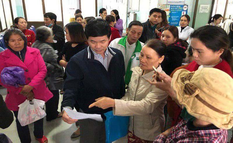 Báo cáo Văn phòng Chính phủ vụ sáp nhập bệnh viện ở Quảng Ngãi