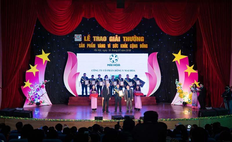 """Hoàn Thủy Khang vinh dự đạt huy chương vàng """"Sản phẩm vì sức khỏe cộng đồng"""" 2019"""