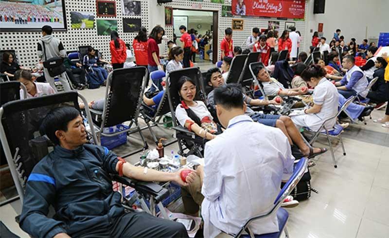 Khai mạc chương trình hiến máu lớn nhất cả nước – Lễ hội Xuân hồng 2019