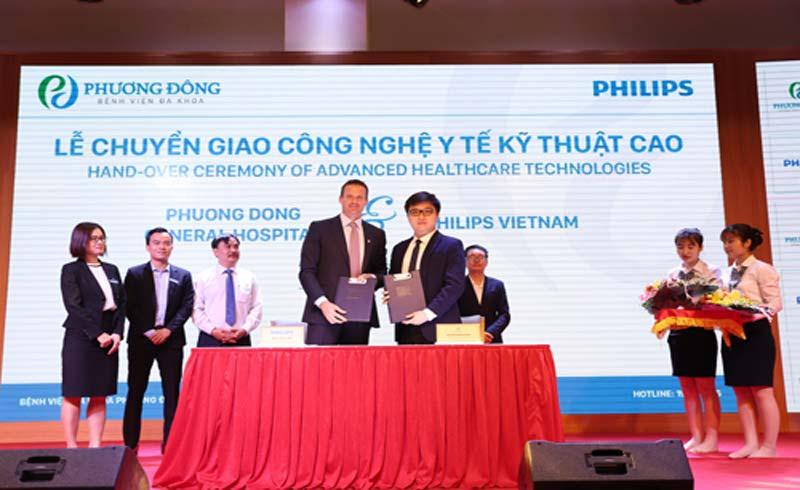 Philips chuyển giao công nghệ y tế cao cho bệnh viện 5 sao Phương Đông