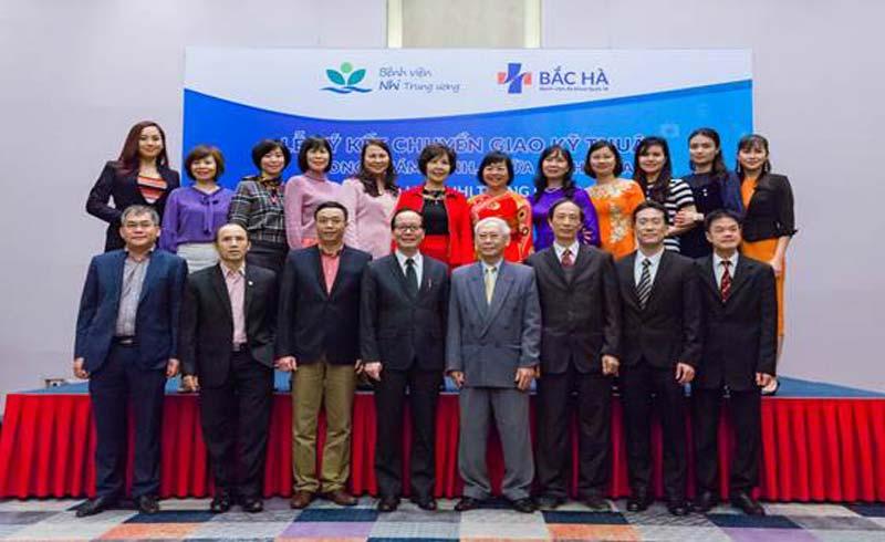 BV Bắc Hà ký kết hợp tác chuyên sâu về y tế với BV Nhi Trung ương