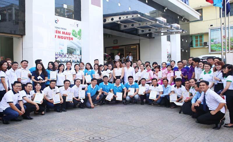 Tập đoàn TTC tổ chức chương trình hiến máu