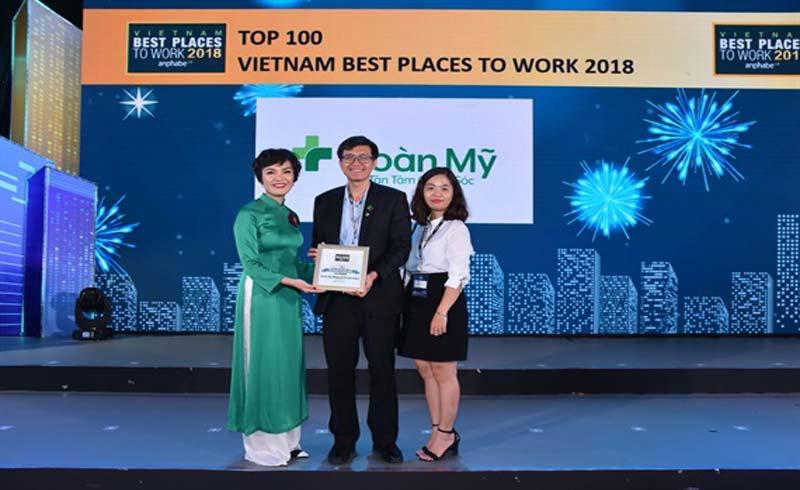 Tập đoàn Y khoa Hoàn Mỹ vào Top 100 nơi làm việc tốt nhất Việt Nam 2018