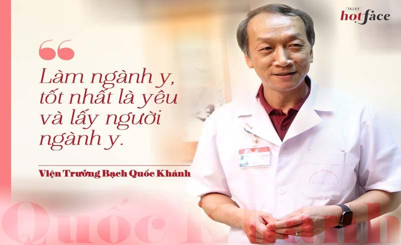 Viện trưởng Bạch Quốc Khánh: Bóng hồng quanh tôi rất nhiều