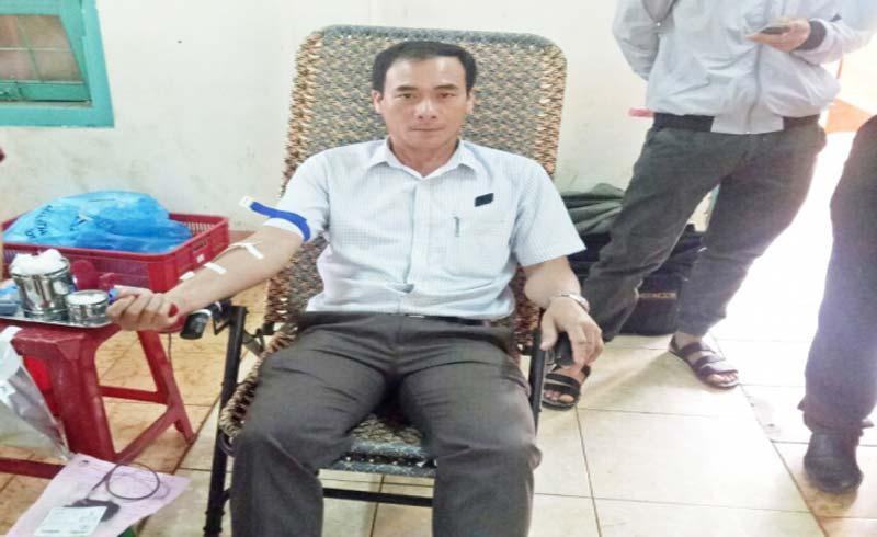 'Hiệp sĩ' 30 lần hiến máu tình nguyện