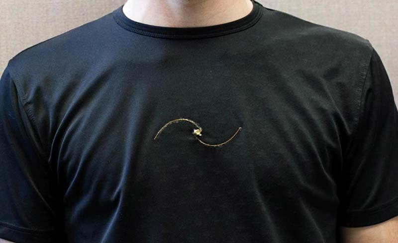 Chiếc áo thun thông minh chẩn đoán bệnh hô hấp