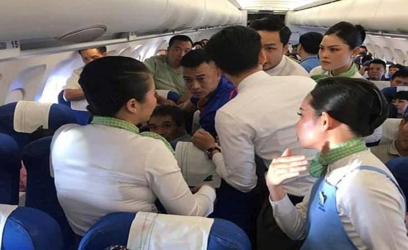 Nữ hành khách bị co giật được cấp cứu trên máy bay Bamboo Airways như thế nào?