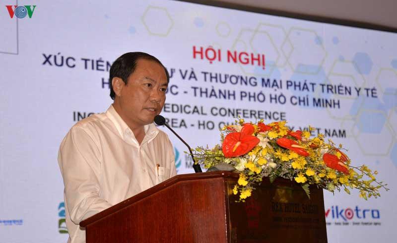 TPHCM kêu gọi doanh nghiệp Hàn Quốc đầu tư vào lĩnh vực y tế