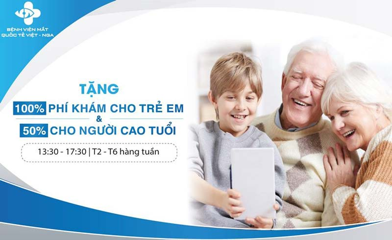 Tầm soát bệnh lý nhãn khoa miễn phí tại TP. HCM