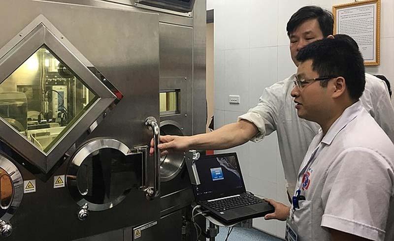 Bệnh viện K chữa ung thư giáp bằng dược chất phóng xạ