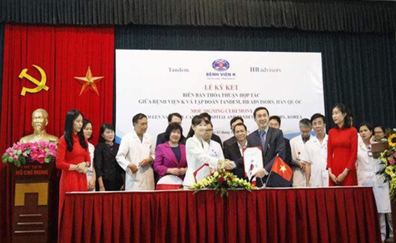 Hợp tác với Hàn Quốc mở trung tâm điều trị ung thư tiêu chuẩn quốc tế
