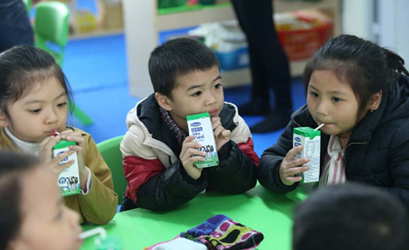 Bộ Y tế công bố quy chuẩn vi chất sữa học đường
