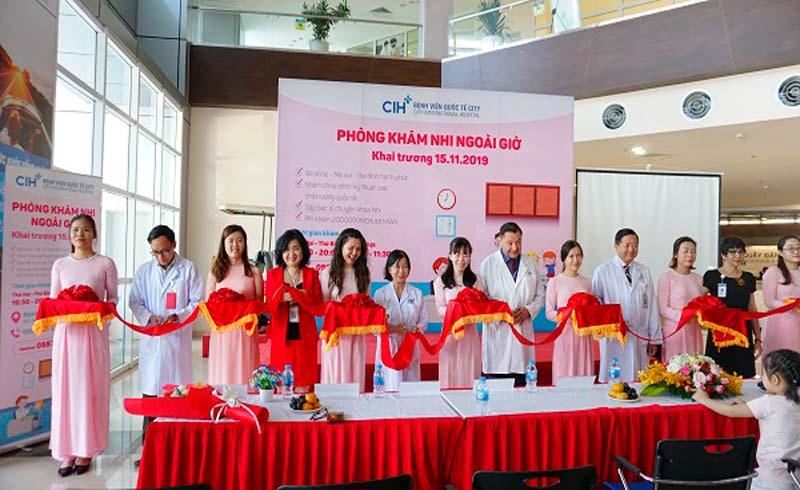 Bệnh viện Quốc Tế City khai trương phòng khám nhi ngoài giờ