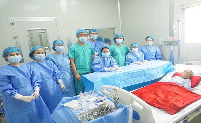 Ghép tế bào gốc cho bệnh nhi 4 tuổi