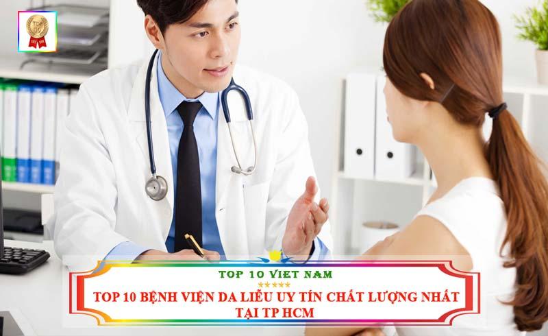 Top 10 bệnh viện da liễu chất lượng nhât tại TP.HCM