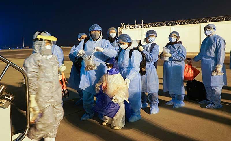 30 công dân về từ Vũ Hán khỏe mạnh xuất viện