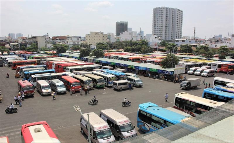 TP HCM sẽ dừng xe khách liên tỉnh