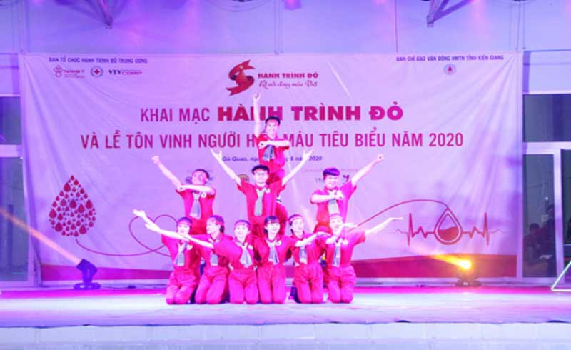 Hành trình Đỏ 2020 khởi động tại Kiên Giang