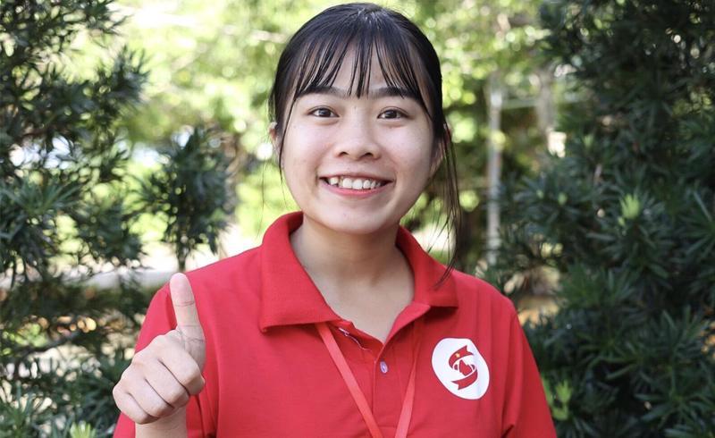 Nữ giảng viên trẻ hăng hái tham gia Hành Trình Đỏ Kiên Giang 2020