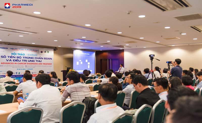 Cầu nối giao lưu quảng bá y tế tại Pharmed & Healthcare Vietnam 2020