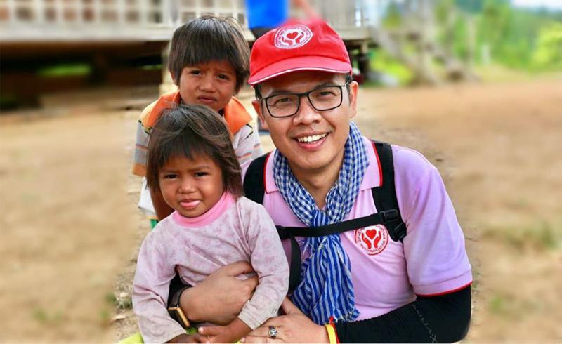 Người đàn ông Thái ấp ôm tình yêu Việt
