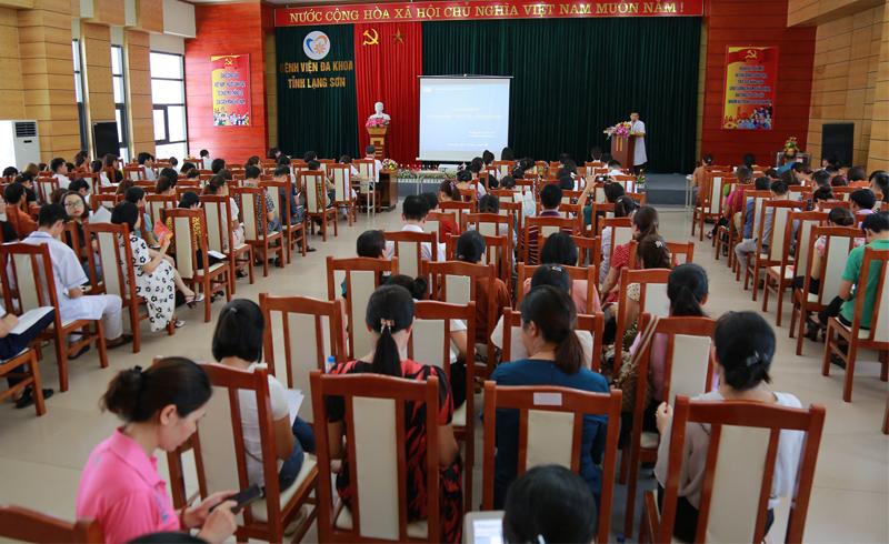 150 cán bộ y tế Lạng Sơn được tập huấn về bệnh Thalassemia
