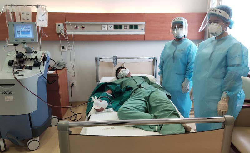 17 người đăng ký hiến huyết tương điều trị Covid-19