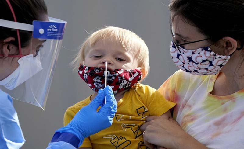 Lời nhắc nhở 'ớn lạnh': Nửa triệu trẻ em ở Mỹ mắc COVID-19