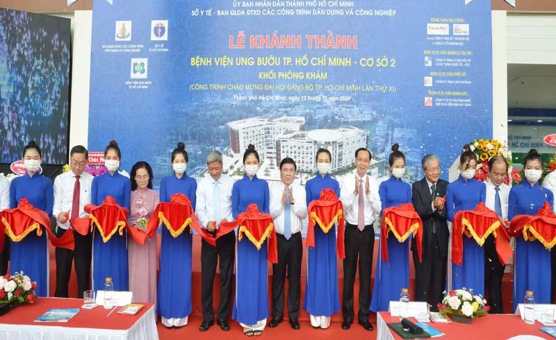 Khu khám bệnh mới của Bệnh viện Ung bướu cơ sở 2 chính thức đi vào hoạt động
