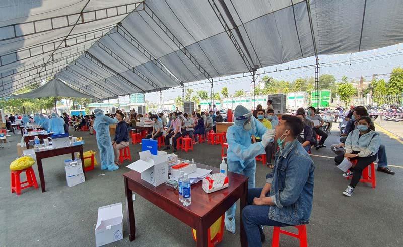 C.P. Việt Nam xét nghiệm Covid-19 cho nhân viên quay lại làm việc sau Tết