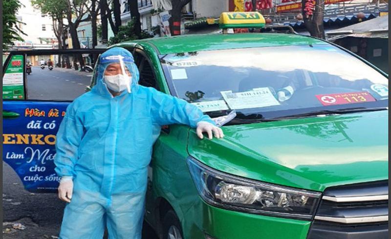 Gần 100 xe taxi tham gia vận chuyển F0