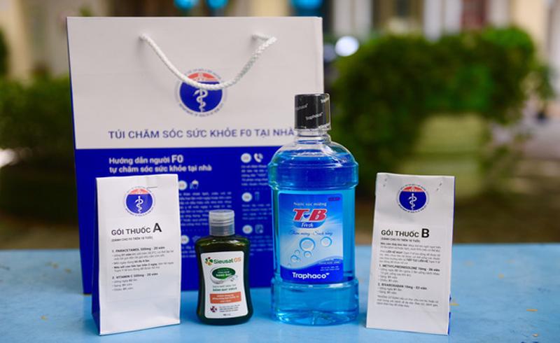 Túi thuốc an sinh – túi thuốc hy vọng cho hàng trăm ngàn F0 điều trị tại nhà